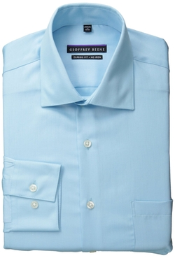 Geoffrey Beene - Regular Fit Sateen Dress Shirt