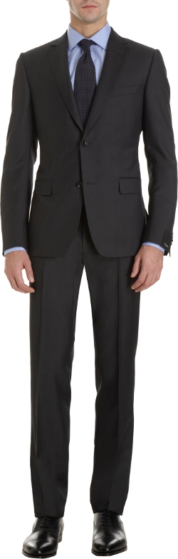 Z Zegna - Notched Collar Two-Piece Suit