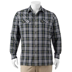 Croft & Barrow - Plaid Button-Down Shirt