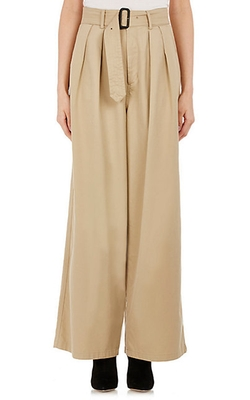 Tomorrowland - Twill Wide-Leg Trousers