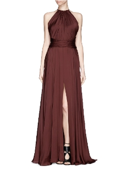 Jason Wu - Ruched Silk Chiffon Gown