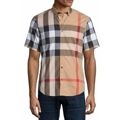 Burberry Fred  - Check Woven Shirt