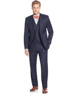 Lauren Ralph Lauren  - Slim-Fit Birdseye Vested Suit