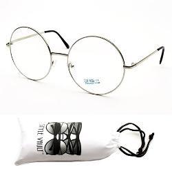 Style Vault  - E17-vp Style Vault Round Sunglasses