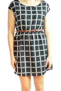 Noble U - Belted Print Dress