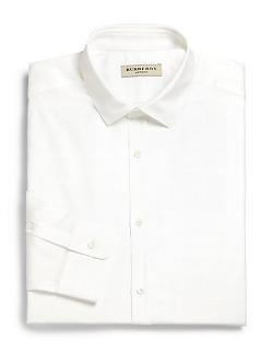Burberry London  - Halesforth Solid Dress Shirt
