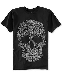 Ring Of Fire - Diamond Skull T-Shirt