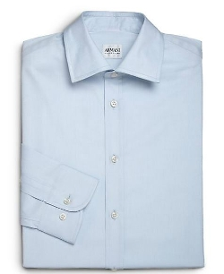 Armani Collezioni - Modern-Fit Cotton Dress Shirt