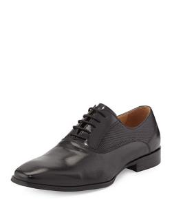 Kenneth Cole  - Guess Who Perforated-Side Oxford