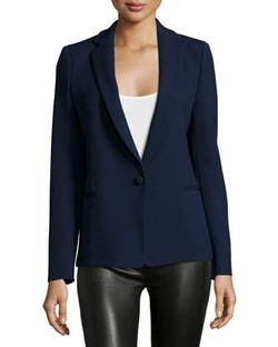 Proenza Schouler - One-Button Fitted Blazer