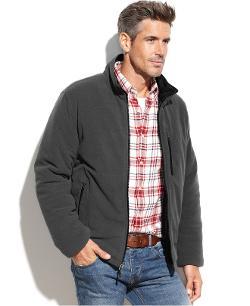 Weatherproof 32 Degrees  - Nano Tech Reversible Fleece Jacket