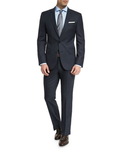 Boss Hugo Boss - Huge Genius Melange Slim-Fit Two-Piece Suit