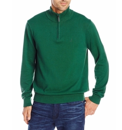 Nautica - Solid Quarter-Zip Sweater