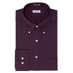 Izod - Solid Twill Button-Down Collar Dress Shirt