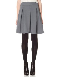 The Limited - Pleated Skater Skirt