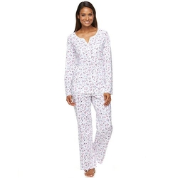 Croft & Barrow - Sweet Sunrise Knit Pajama Set