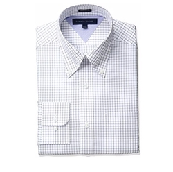 Tommy Hilfiger - Regular Fit Tattersall Dress Shirt