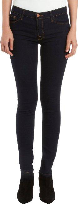 J Brand  - 811 Mid-Rise Skinny Leg Jeans