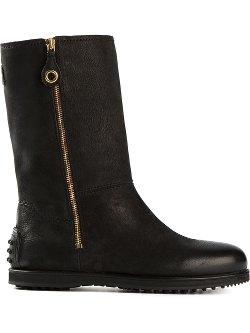 Car Shoe  - Side Zip Boots