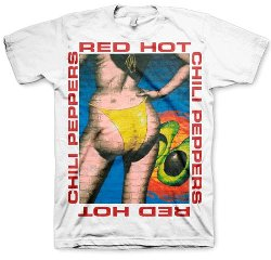 Red Hot Chili Peppers  - Bikini T-Shirt