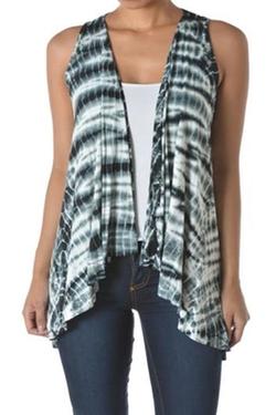 T-Party Fashion - Lace Back Vest