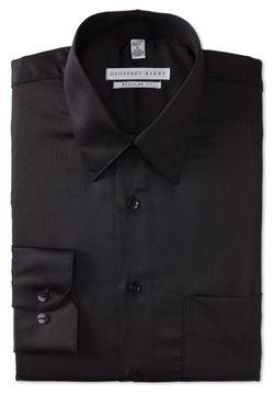 Geoffrey Beene - Regular-Fit Sateen Dress Shirt