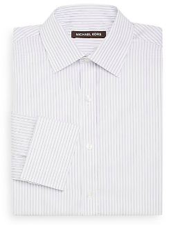 Michael Kors  - Dobby Stripe Dress Shirt