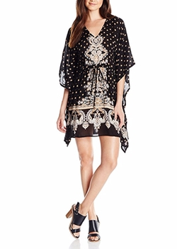 Angie - Printed Kaftan Dress
