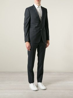 Z Zegna  - Textured Two Piece Suit