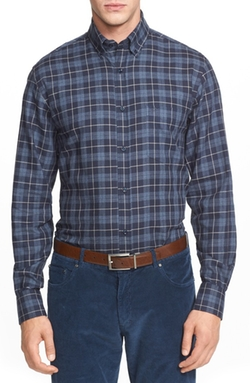 Paul & Shark  - Regular Fit Plaid Flannel Sport Shirt