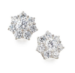 Fantasia - Crystal Stud Earrings