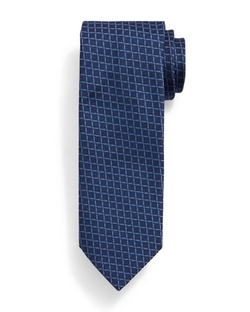 Brioni  - Grid-Box Pattern Tie