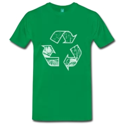 Spreadshirt - Recycle T-Shirt