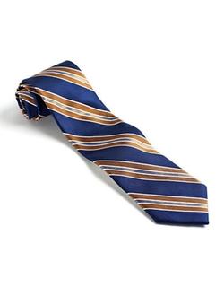 Forsyth  - Diagonal Striped Silk Tie