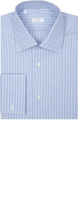 Barba  - Stripe End-On-End Shirt