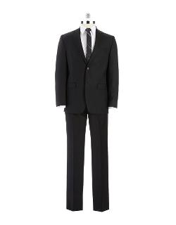 Ralph Lauren  - Classic Fit Two-piece Striped Wool Pants Suit