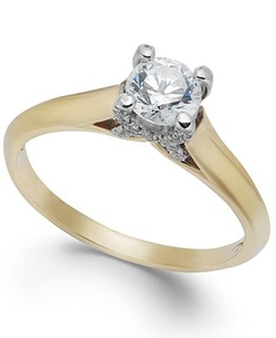 X3 - Certified Diamond Engagement Ring