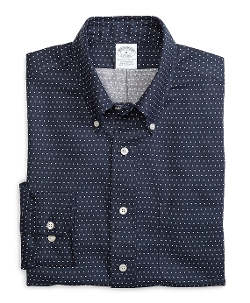 Brooks Brothers - Slim Fit Dot Sport Shirt