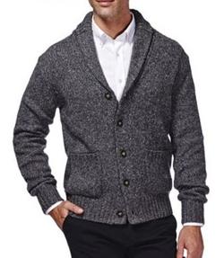 Haggar - Shawl-Collar Cardigan Sweater