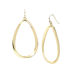 Worthington - Twist Oval Drop Earrings