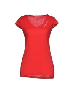Take-Two - V Neck Jersey T-Shirt