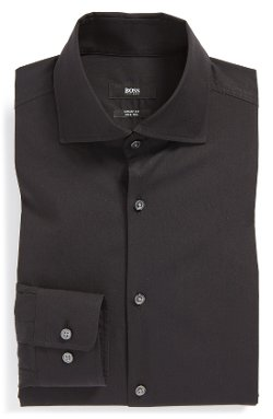 Boss Hugo Boss  - Miles Sharp Fit Stretch Dress Shirt