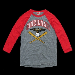 Homeage - Cincinnati Baseball Raglan Shirt