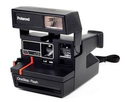 Polaroid  - Vintage Polaroid One Step Flash Camera