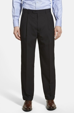 Linea Naturale - Pleated Wool Dress Pants