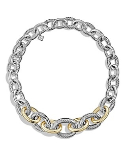 David Yurman  - Medium Oval Chain Necklace