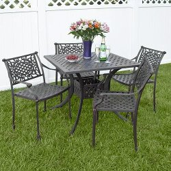 Napoli Collection  - Cast Aluminum Square Dining