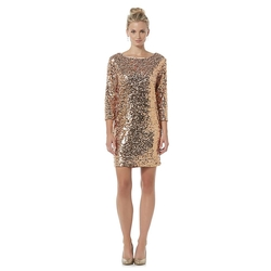 Metaphor - Sequin Shift Dress