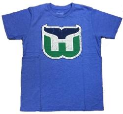 Mens Majestic Threads  - Vintage Hartford Tri Blend Blue T-Shirt