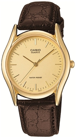 Casio - Brown Leather Watch
